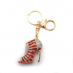Shoe Keyring Red