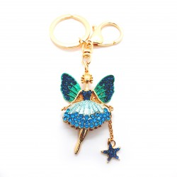 Fairy Keyring Blue