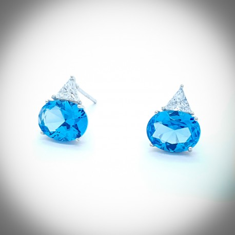 Delphinium Earrings