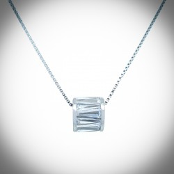 Wedelia Barrel Necklace