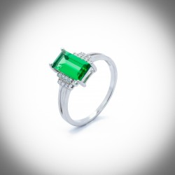 Dianthus Silver Ring