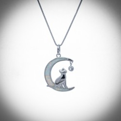 Nepeta Silver necklace